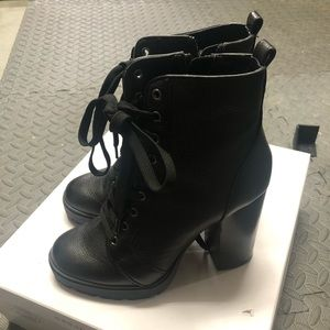 Steve Madden Laurie Lace-Up Boot